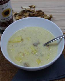 Kartoffel-Steinpilz-Suppe Pflanzenoele Kovacs